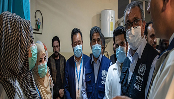 I bisogni sanitari acuti in Afghanistan devono essere affrontati con urgenza e i vantaggi in termini di salute protetti