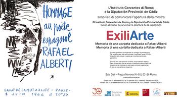 ExiliArte: Memoria di una cartella dedicata a Rafael Alberti