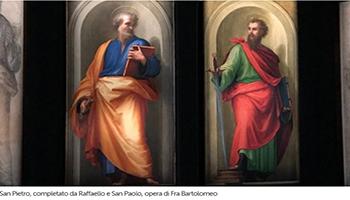 Tornano le mostre ai Musei, con Pietro e Paolo di Raffaello e fra Bartolomeo