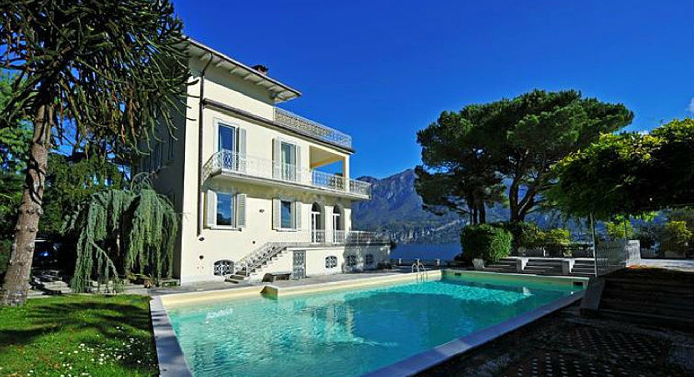 exclusive villa lake como