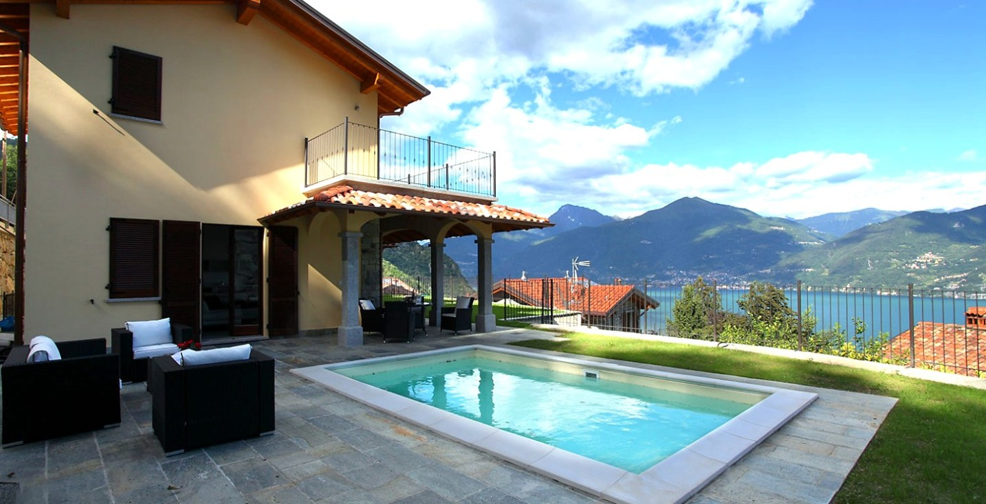 Villa Serena with privatw swimming pool and amazing views in Menaggio, Lake Como (Italy)