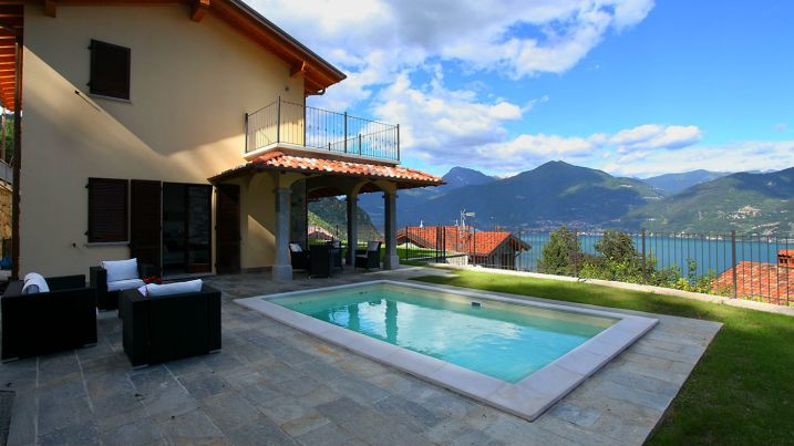 menaggio holiday home private pool