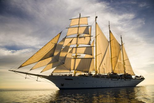 A totally different cruising experience aboard stunning tall ship sailing vessels