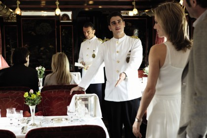Five stars assistance on board Venice Orient Express