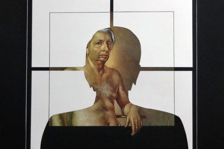 Giulio Paolini, Autoritratto nudo (2014-15). © Giulio Paolini. Courtesy Archivio Giulio Paolini, Torino.