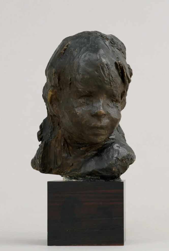 Medardo Rosso, Bambino ebreo, c. 1892-1893 / cast c. 1896, wax over plaster. Image courtesy of Peter Freeman, Inc., photography by Jerry Thompson.
