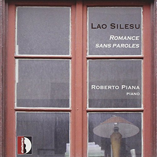 CD Romance sans paroles di Lao Silesu, interpretate dal pianista Roberto Piana