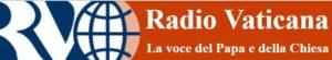 """logo di Radio Vaticana, """"voce del Papa e della Chiesa"""""""