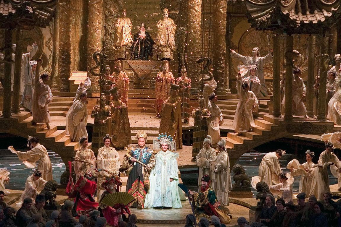 scena dalla Turandot di Giacomo Puccini