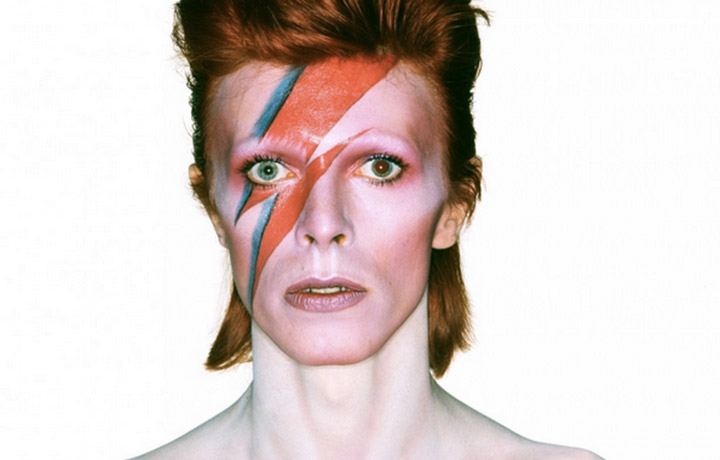 David Bowie (ph. Rolling Stones)
