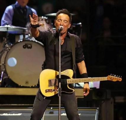 Bruce Springsteen in concerto a New York (foto dal sito ufficiale))