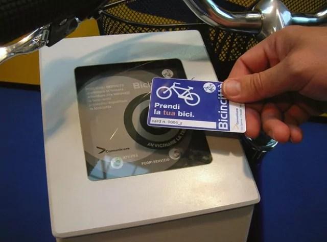 bike sharing pisa