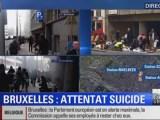 Terrorismo Bruxelles Le immagini degli attentati a Bruxelles su Bfmtv