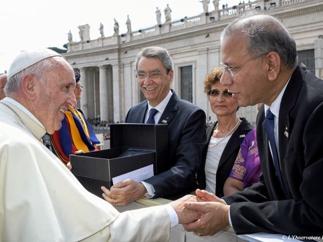 Rotary Papa Francesco