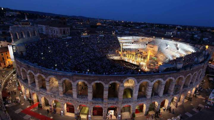 Verdi arena di verona opera festival