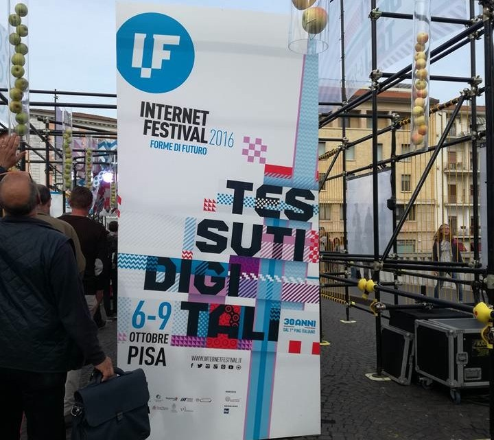 #IF2016 Internet festival Pisa