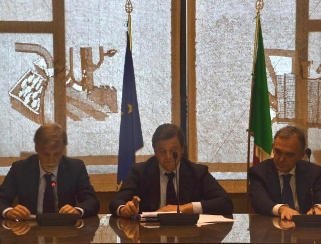La firma al Mise dell'Accordo di programma per l'area di crisi di Livorno