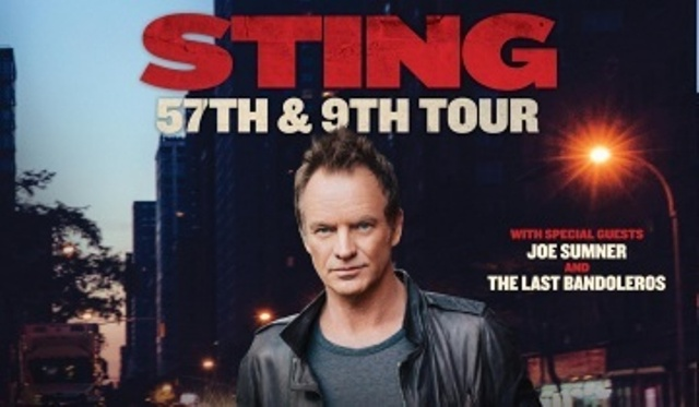 Sting tour, 57th 9th.