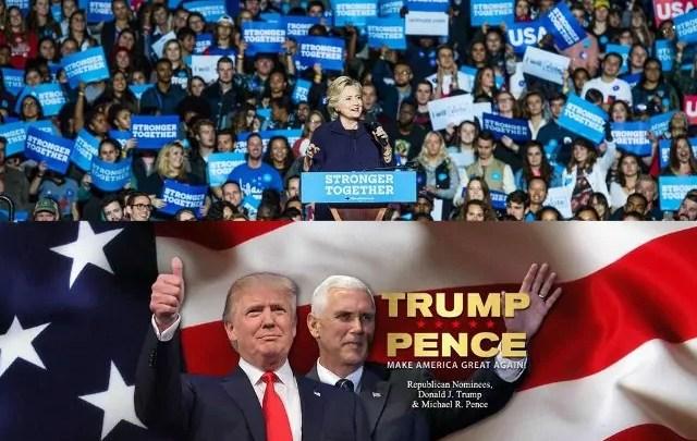Donald Trump batte la Clinton e vince le Presidenziali Usa