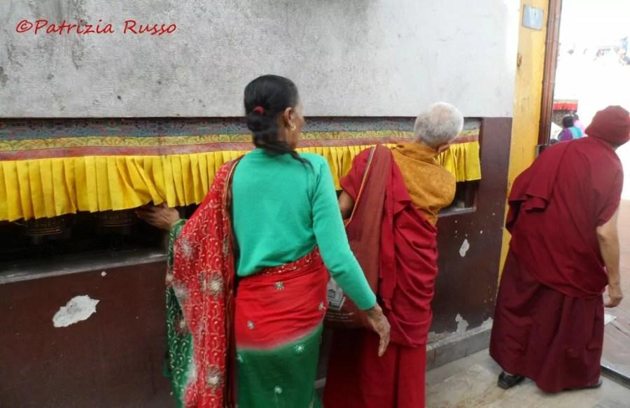 Nepal Viaggio Russo Monastero Boudanath