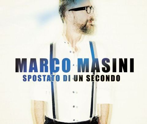 La cover del nuovo album di Marco Masini Spostato di un secondo
