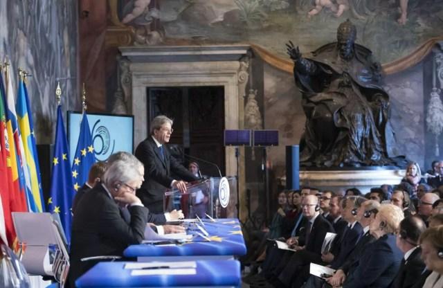 Gentiloni #Eu60 intervento