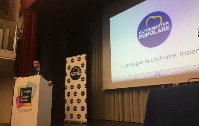 Ncd Angelino Alfano Alternativa popolare