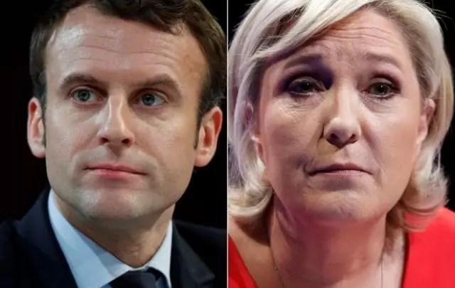 Macron e Le Pen vincono il primo turno delle presidenziali francesi