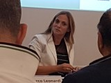 Emiliana Alessandrucci confermata presidente del Colap presiede la tavola rotonda sul futuro delle libere professioni (ph. In24/P. Nigro).