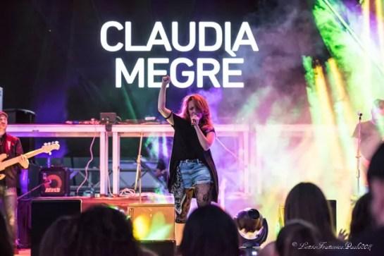 Claudia Megrè durante l'esibzione, foto Lento FrancescoPaolo