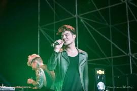 Stash dei The Kolors Durante l'esibizione nella serata finale, foto Lento FrancescoPaolo