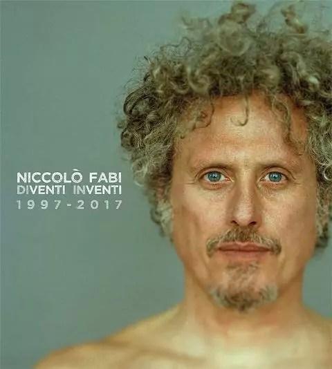 """La copertina della nuova raccolta di Niccolò Fabi """"Diventi inventi 1997 - 2017"""", in uscita ad ottobre."""