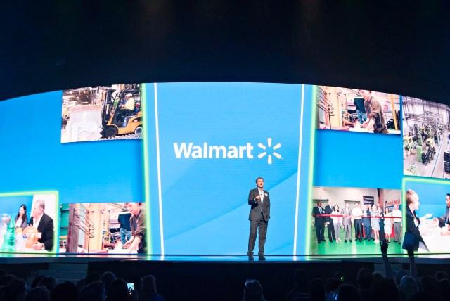 Il presidente e ceo di Wal-Mart alla convention degli azionisti del 2 giugno 2017.