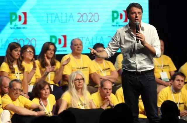 Renziani e Bersaniani Renzi