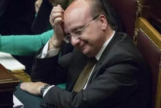 L'ex deputato Francantonio Genovese di Messina (ph. Lapresse).