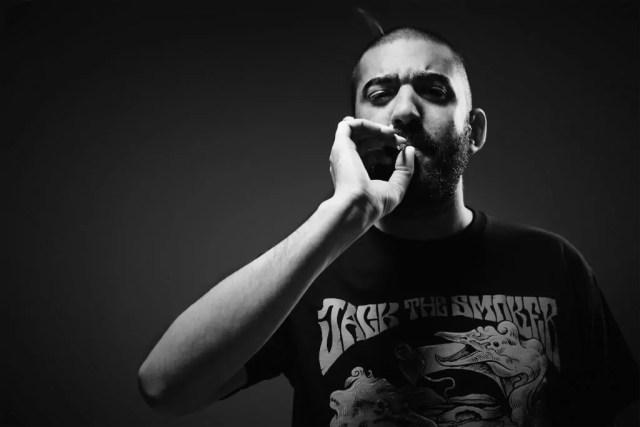 Il rapper Jack The Smoker, che parteciperà al Sardinia H2 Culture sabato 17 dicembre a Cagliari.