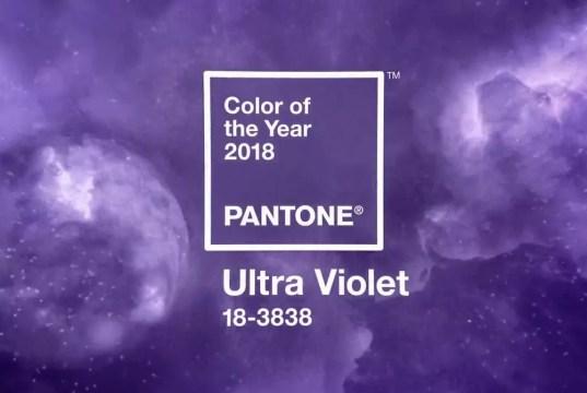 Pantone® 18-3838 Ultra Violet: ecco il viola giusto per l'anno 2018 secondo il fornitore degli standard internazionali del colore: è adatto all'era dell'immaginazione.