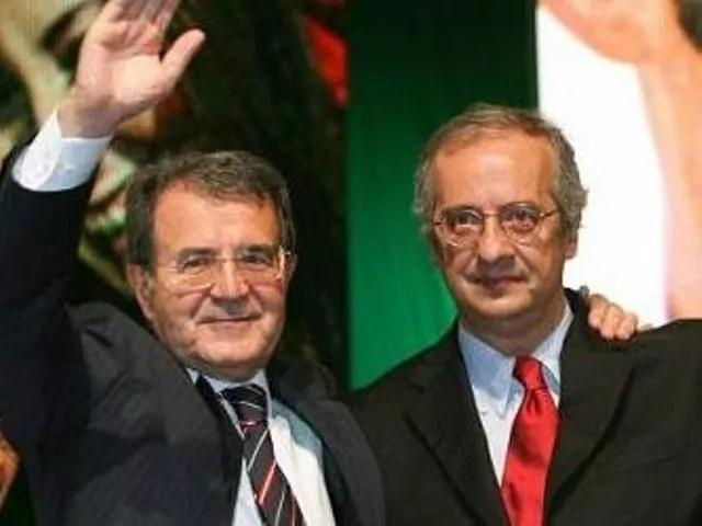Romano Prodi e Walter Veltroni