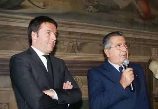 Matteo Renzi e De Benedetti