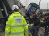 Disastro ferroviario Pioltello Treno deragliato