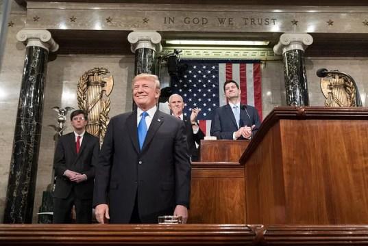 Donald Trump Budget, Infrastrutture Stato Unione 2018 discorso