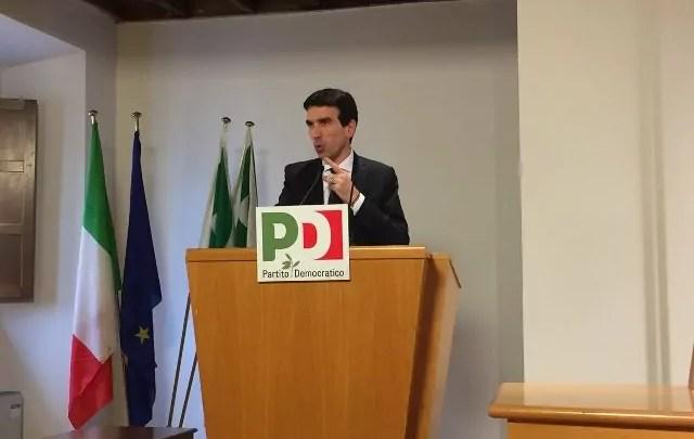 Maurizio Martina, reggente del Pd dopo le dimissioni di Matteo Renzi.