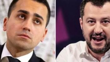 """La """"Destra"""" leghista e la """"Sinistra"""" pentastellata alleate pro tempore contro la Casta: Di Maio e Salvini in cerca di un compromesso di alto profilo per formare il Governo e dare risposte al Paese."""