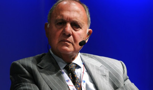 L'economista Paolo Savona (ph. Agi).