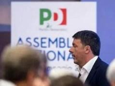 Pd Renzi Assemblea nazionale pd