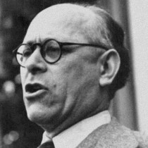 Il presidente dell'Assemblea Costituente Umberto Terracini (ph. Wikipedia).
