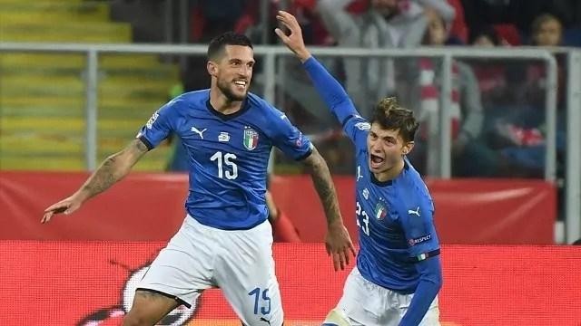 Biraghi Uefa Italia Nations League polonia