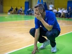 Napoli Basket coach Gianluca Lulli