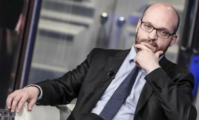 Il ministro della Famiglia Lorenzo Fontana (ph. Agi).