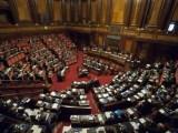 Aula del senato askanews